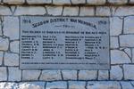 Seddon War Memorial 1914-1918. Image provided by John Halpin 2017, CC BY John Halpin 2017