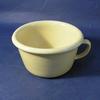 child's chamber pot, tapered body, lipped rim, wit...