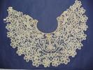bertha (large collar), machine made braid guipure ...
