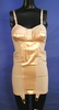 corset, peach coloured with satin half cups and ce...