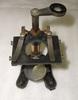 microscope marked: W. WATERS / LONDON