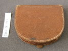leather coin purse belonged to Beatrice AH Goodey,...