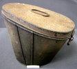 metal hatbox for British officver's shako Belonged...
