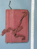 notebook used by Mrs Katherine Patterson for notes...