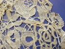 cotton, Honiton, bobbin lace