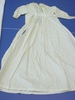 nightdress, infant's in fine cream coloured cotton...