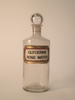 Stoppered apothecary bottle, 'Rose Water' descript...