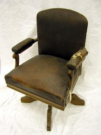 chair, swivel desk